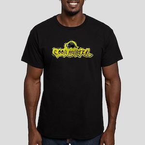 REDNECK COON HUNTER Men's Fitted T-Shirt (dark)