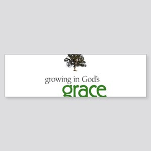 Growing In God's Grace Sticker (Bumper)