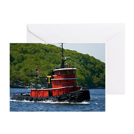 Sub Tug Greeting Cards (Pk of 10)