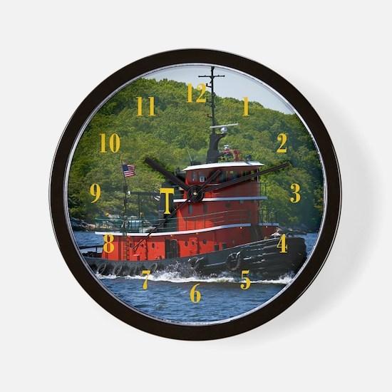Sub Tug Wall Clock