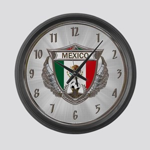 Mexico Soccer Large Wall Clock