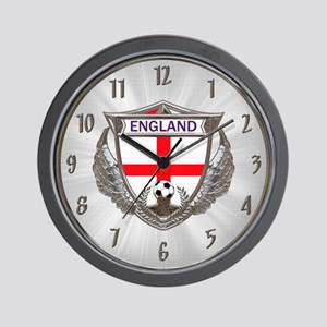 English Soccer Wall Clock
