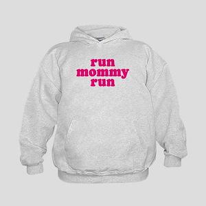 Run Mommy Run Kids Hoodie