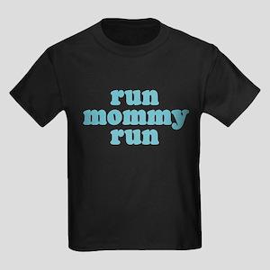 Run Mommy Run Kids Dark T-Shirt