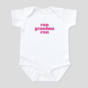 Run Grandma Run Infant Bodysuit