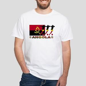Angola Soccer 2006 White T-Shirt