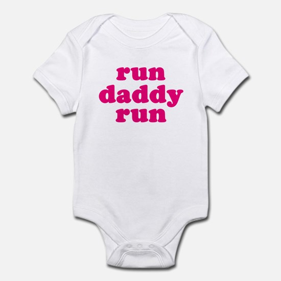 run daddy run Infant Bodysuit