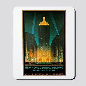 Vintage New York Central Building Mousepad