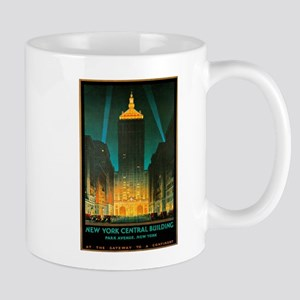 Vintage New York Central Building Mug