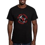 No Bull Saloon 2 Men's Fitted T-Shirt (dark)