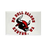 No Bull Saloon 2 Rectangle Magnet (100 pack)