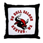 No Bull Saloon 2 Throw Pillow