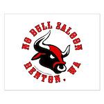 No Bull Saloon 2 Small Poster