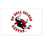 No Bull Saloon 2 Large Poster