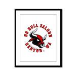 No Bull Saloon 2 Framed Panel Print