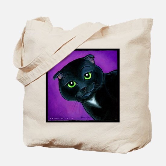 "Scottish Fold ""Maverick"" Tote Bag"
