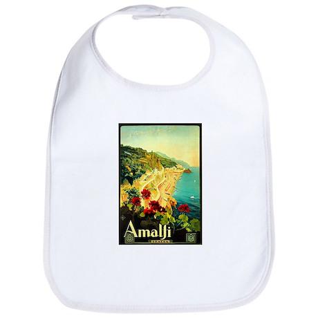 Vintage Amalfi Italy Travel Bib