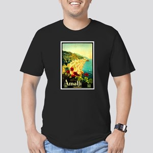 Vintage Amalfi Italy Travel Men's Fitted T-Shirt (