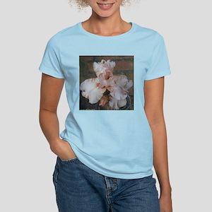 Bearded Iris  Pink Attraction Women's Pink T-Shirt