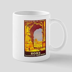Vintage Rome Express Train Deluxe Mug