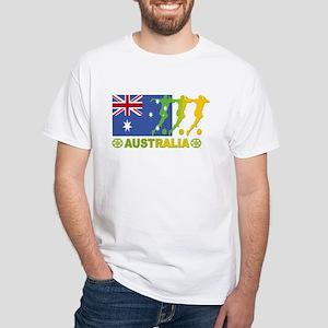 Australia Soccer 2006 White T-Shirt