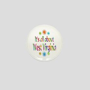 West Virginia Mini Button