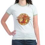 Hot Celtic Dragonfly Jr. Ringer T-Shirt