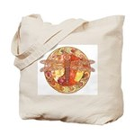 Hot Celtic Dragonfly Tote Bag