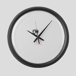 Academic Cold War Large Wall Clock