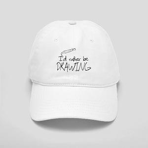 I'd Rather Be Drawing Cap
