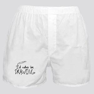 I'd Rather Be Drawing Boxer Shorts