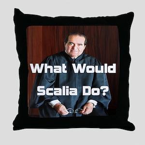 WWSD-SQ Throw Pillow