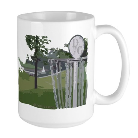 Disc Golf Large Mug