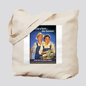 Work on the Farm Tote Bag