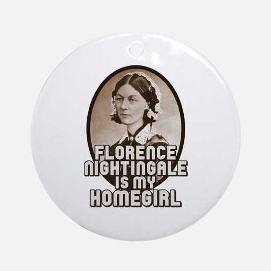 Florence Nightingale Ornament (Round)