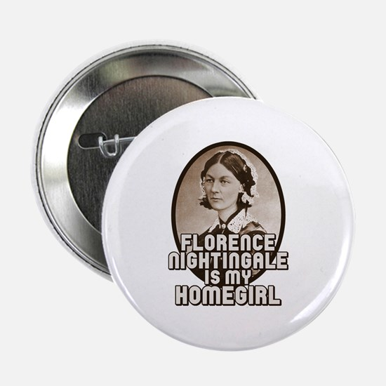 "Florence Nightingale 2.25"" Button"
