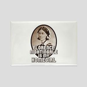 Florence Nightingale Rectangle Magnet