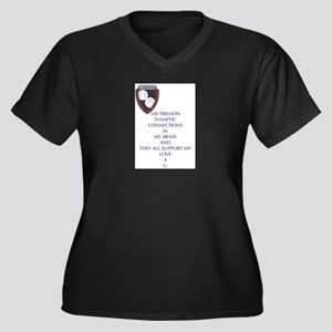 My Brain Plus Size T-Shirt