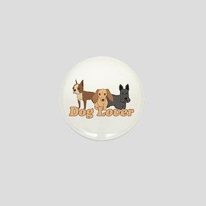 Dog Lover Mini Button