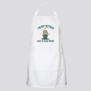 Golf Is Hard Work Apron