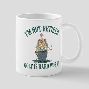 Golf Is Hard Work Mug