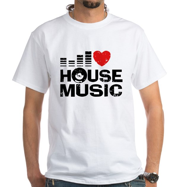I love house music men 39 s classic t shirts i love house for Vintage house music