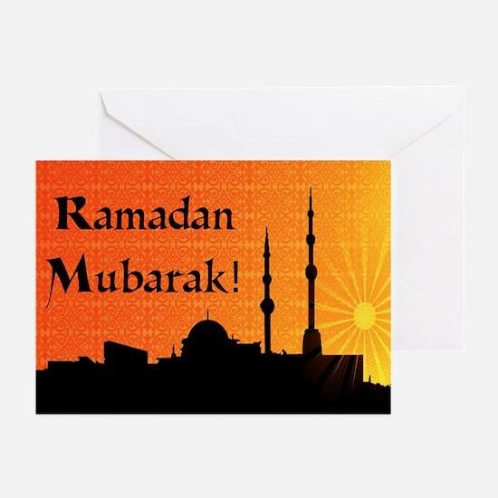 Ramadan Mubarak Greeting Cards (Pk of 20)
