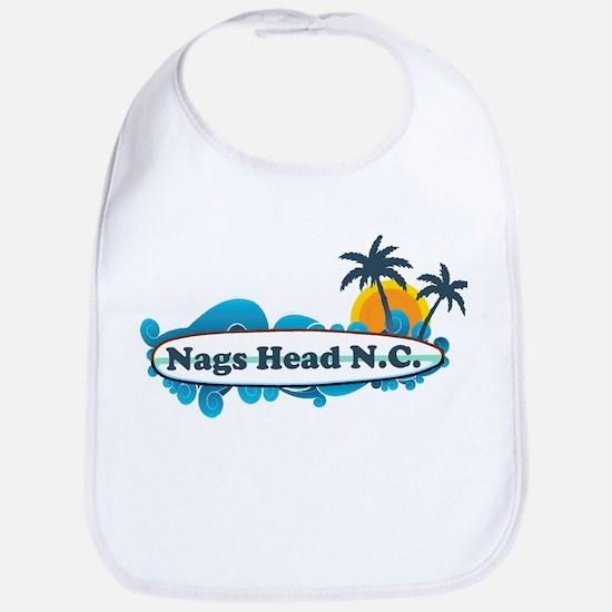 Nags Head NC - Surf Design Bib