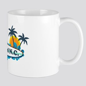 Nags Head NC - Surf Design Mug