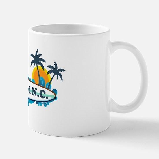 Nags Head NC - Surf Design Mug