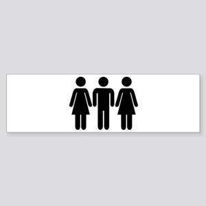 Threesome Sticker (Bumper)