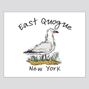 Seagull East Quogue Small Poster