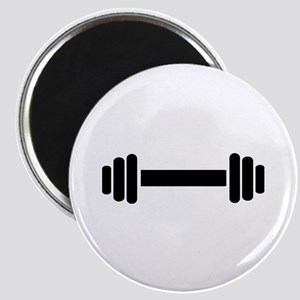 Barbell - weightlifting Magnet