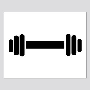 Barbell – weightlifting Small Poster